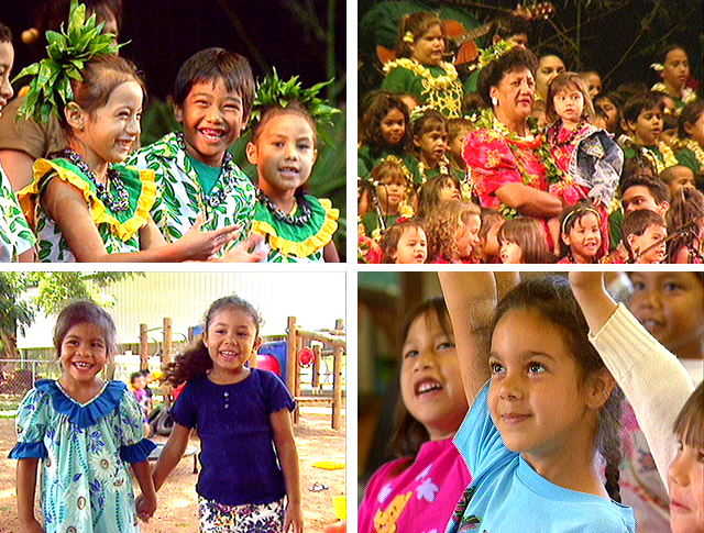 Hawaiian language, language education, endangered languages, Hawaiian education, language immersion schools, Aha Punana Leo, language nests