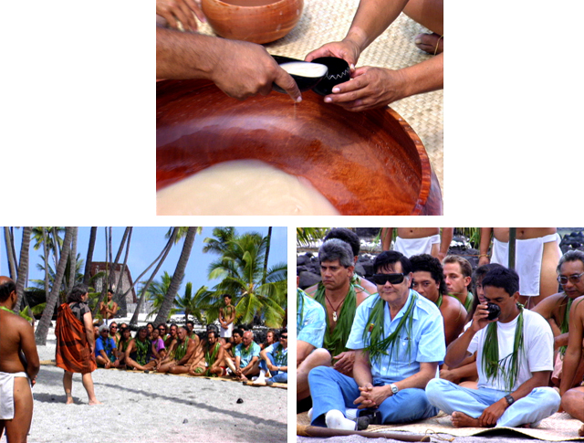 Hokulea, Hawaiian culture, awa, awa ceremony, Hawaiian ceremony, Sam Kaai, voyaging,