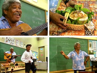Joe Waialae at Nānākuli High School