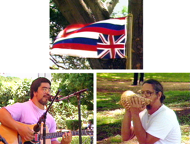 Hawaiian culture, Hawaiian sovereignty, Peter Kealoha, Kekuni Blaisdell, Ka La Hoihoi Ea, Hawaiian history
