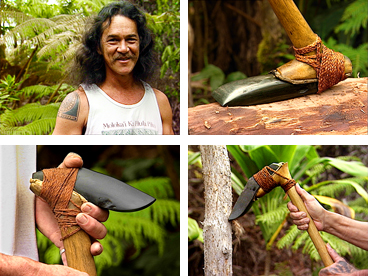 adze, Hawaiian adze, koi, adze-making, Hawaiian culture, Tom Pico, woodworking, Hawaiian crafts, Hawaiian tools