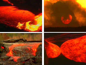 Hawaiian volcanoes, lava flows, Kalapana, Hawaii island, vulcanology, volcanology, lava