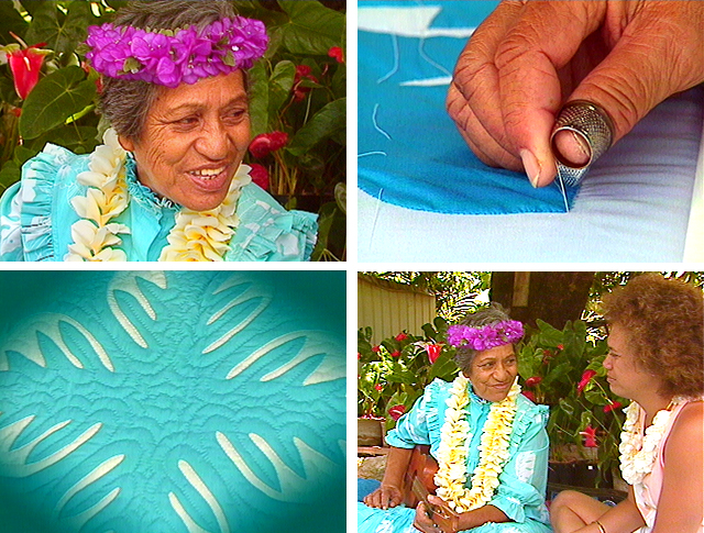 Margaret Aipoalani, Hawaiian language, Hawaiian quilts, quilt-making, Hawaiian music, oral history, Tuti Kanahele