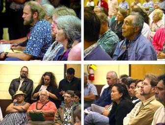 Mauna Kea Master Plan – Public meeting, Kona TRANSCRIPT